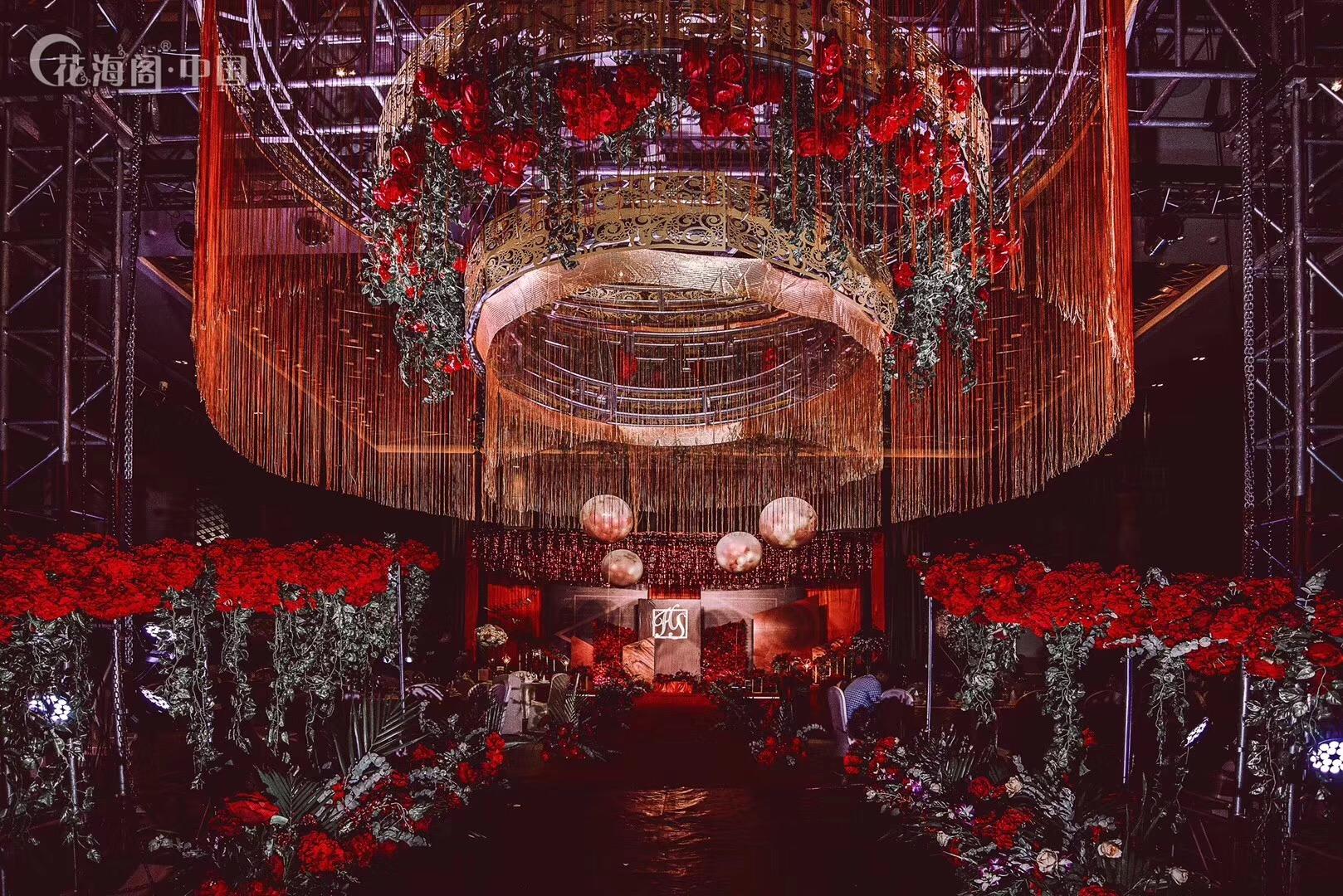 北京花海阁婚礼策划_欧式复古宫殿风_北京花海阁婚礼策划