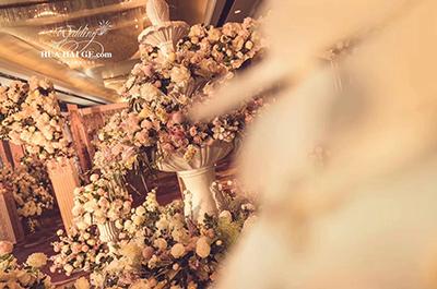 恰到好处的爱情,花海阁婚礼